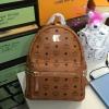 MCM backpack สีน้ำตาล งานHiend 1:1