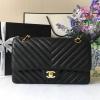 Chanel Classic chevron สีดำ งานHiend Original