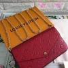 Louis vuitton Pochette Felicie crossbody bag สีแดง งานHiend Original
