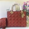 Dior Supple Lady Dior สีแดง งานHiend Original