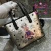 กระเป๋า MCM Mini Anya Top Zip Shopper สีเงิน งานHiend Original