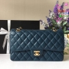 Chanel Classic สีน้ำเงิน งานHiend Original