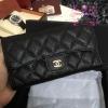 Chanel classic wallet สีดำ งานHiend Original