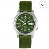 Seiko 5 Sport Military Green Strap SNK805K2