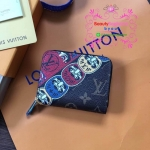Louis Vuitton Zippy Coin Purse งานHiend 1:1 Inspired by Kansai Yamamoto, Kabuki stickers