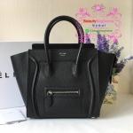 Celine Micro Luggage Bag สีดำ งานHiend Original