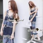 Seoul Secret Say's... Saphirely Blue Layer Lace Set