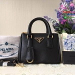 Prada Mini Saffiano Galleria สีดำ งานHiend 1:1