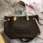 Louis vuitton Neverfull Monogram MM งานHiend1:1