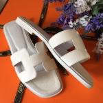 รองเท้าแตะ Hermes สีขาว งานHiend Original