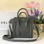 Celine Luggage nano สีเทา งานHiend 1:1