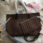 Louis vuitton Neverfull Damier MM งานHiend1:1