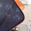 Louis vuitton Pochette Felicie crossbody bag สีน้ำเงินกรม งานHiend Original thumbnail 3