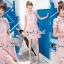 Seoul Secret Say's... Pink Daisy Lace Dress thumbnail 4
