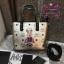 กระเป๋า MCM Mini Anya Top Zip Shopper สีเงิน งานHiend Original thumbnail 3