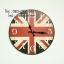 นาฬิกาติดผนังเก๋ๆ รุ่นธงชาติอังกฤษ thumbnail 1