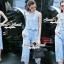 Seoul Secret Say's...Pastelly Blue Flora Lace Set thumbnail 3