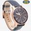 นาฬิกา FOSSIL FS5237 Men Watch Chronograph Leather นาฬิกาสายหนัง Chronograph thumbnail 4