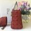 Dior Supple Lady Dior สีแดง งานHiend Original thumbnail 2