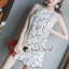 Clasper Rosy Lace Dress thumbnail 1