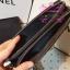 Chanel Boy Double Zipped Small Clutch สีดำ งานHiend Original thumbnail 4
