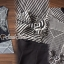 Chic Stripe Waisty Tie Shorts Set thumbnail 4