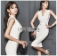🎀 Lady Ribbon's Made 🎀 Lady Sara Smart Chic Clean White Suit Dress thumbnail 5