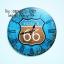 นาฬิกาตกแต่งบ้าน รุ่นโลโก้ ROUTE66 thumbnail 1