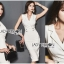 🎀 Lady Ribbon's Made 🎀 Lady Sara Smart Chic Clean White Suit Dress thumbnail 2