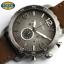 นาฬิกา FOSSIL JR1424 Men Watch Chronograph Leather Strap Chronograph 50 mm thumbnail 5