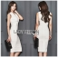 🎀 Lady Ribbon's Made 🎀 Lady Sara Smart Chic Clean White Suit Dress thumbnail 3