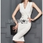🎀 Lady Ribbon's Made 🎀 Lady Sara Smart Chic Clean White Suit Dress thumbnail 1
