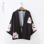 เสื้อคลุมญี่ปุ่นพิมพ์ลาย (มีให้เลือก 2 สี)