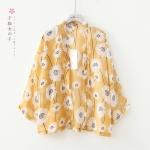 เสื้อคลุมผ้าชีฟองลายดอกไม้ (มีให้เลือก 3 สี 2 ไซส์)