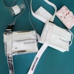 กระเป๋าสะพายข้าง หนัง PU สไตล์ฮาราจูกุ (มีให้เลือก 3 สี)