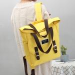 กระเป๋าเป้ผ้า Canvas ใบใหญ่ (มีให้เลือก 6 สี)