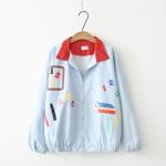 เสื้อคลุม/แจ็คเก็ตแขนยาว พิมพ์ลาย (มีให้เลือก 2 สี)