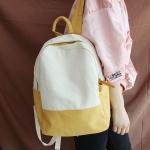 กระเป๋าเป้ ผ้า Canvas (มีให้เลือก 4 สี)