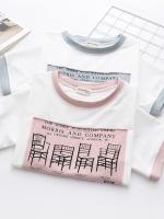 เสื้อยืดแขนสั้นพิมพ์ลาย (มีให้เลือก 2 สี)