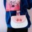 กระเป๋าสะพายข้างหนัง PU (มีให้เลือก 6 สี) thumbnail 4