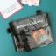 กระเป๋าสะพายข้างหนัง PU แต่งครอบ PVC ใส พิมพ์ลาย (มีให้เลือก 4 สี) thumbnail 5