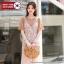 [PRE-KOREA] ชุดเข้าเซท2ชิ้น เดรสเสื้อยืด+เดรสลูกไม้สายเดี่ยว (มีให้เลือก 2 สี) thumbnail 1