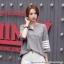 [PRE-KOREA] เสื้อยืดแต่งคอเสื้อพิมพ์ลายแถบแขนสั้น (มีให้เลือก 2 สี) thumbnail 2