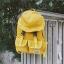 กระเป๋าเป้ แต่งที่ปิดกระเป๋ารูปทรงหมวก (มีให้เลือก 4 สี) thumbnail 1