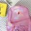 กระเป๋าเป้สะพายหลังหนังโฮโลแกรมปักลาย (มีให้เลือก 4 สี) thumbnail 7