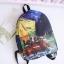 กระเป๋าเป้ผ้า Canvas พิมพ์ลาย (มีให้เลือก 3 ลาย) thumbnail 2