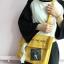 กระเป๋าสะพายข้างหนัง PU แต่งครอบ PVC ใส พิมพ์ลาย (มีให้เลือก 4 สี) thumbnail 7