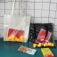 กระเป๋าถุงผ้า Canvas แต่งตุ๊กตาเป็ดยาง เย็บครอบ PVC ใส (มีให้เลือก 2 สี) thumbnail 2