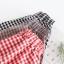 กระโปรงลายสก๊อตแต่งชายผ้าลูกไม้ เอวยืด (มีให้เลือก 3 สี) thumbnail 6