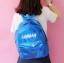 กระเป๋าเป้ผ้าโฮโลแกรม (มีให้เลือก 3 สี) thumbnail 4
